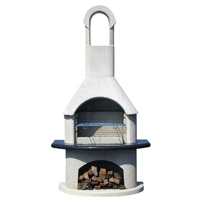 Buschbeck 54cm Ambiente Masonry Charcoal Barbecue