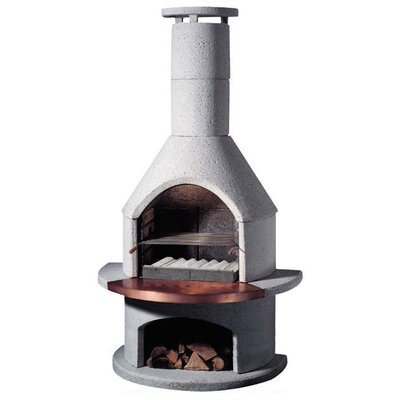 Buschbeck 54cm Rondo Masonry Charcoal Barbecue