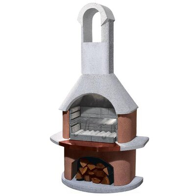 Buschbeck 54cm Toscana Masonry Charcoal Barbecue