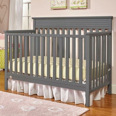 Newbury 4-in-1 Convertible Crib Color: Stormy Gray