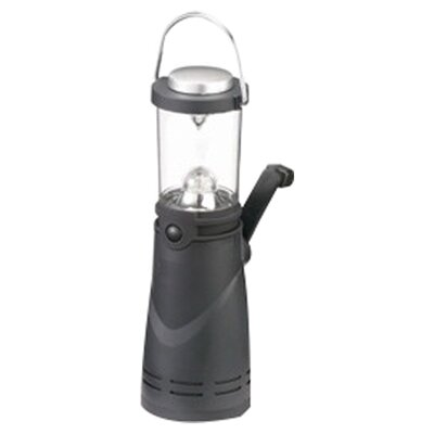 High Peak 4 LED Wind Up Hanging Lantern