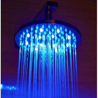 "Alfi Brand 8"" Round LED Rain Shower Head"