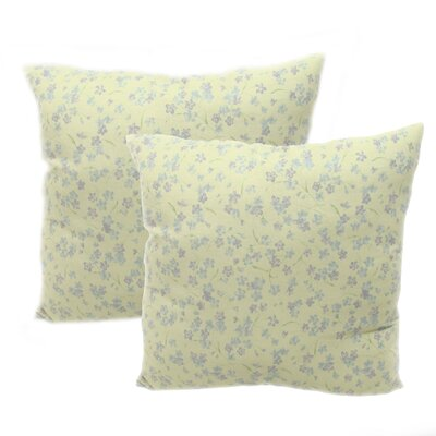 American Mills Violets Throw Pillow