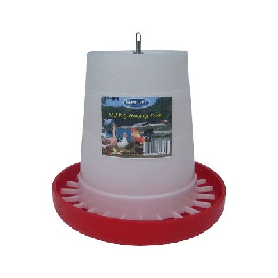 Poultry Feeder in Plastic Size: 6 lbs