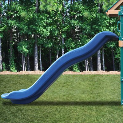 Blue Rave Slide for 5' Deck Height - Slide Upgrade for Play Sets