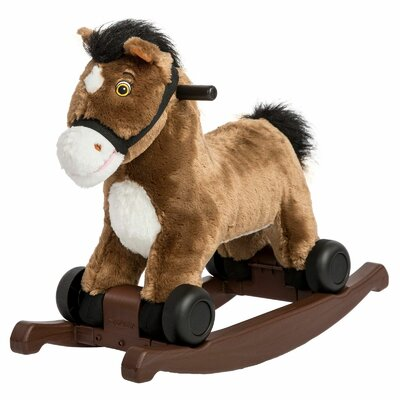Chocolate 2-in-1 Rocking Pony