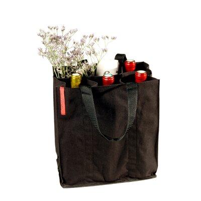 L'Atelier du Vin Soft Baladeur Noir Bottle Carrier