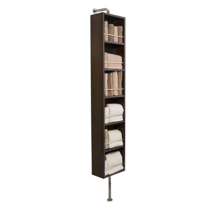 "Madeli 11.8"" x 78"" Bathroom Shelf"