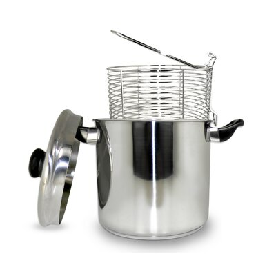 5.7 Liter Stainless Steel Stove Top Deep Fryer
