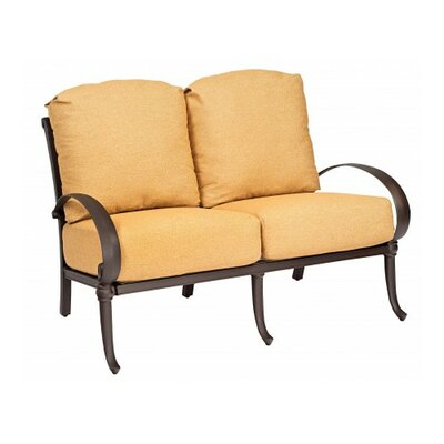 Holland Loveseat with Cushions Fabric: Canvas Hot Pink