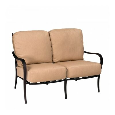 Apollo Loveseat with Cushions Fabric: Summit Spark