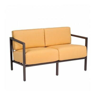 Salona Loveseat with Cushions Fabric: Brisa Distressed Chamois
