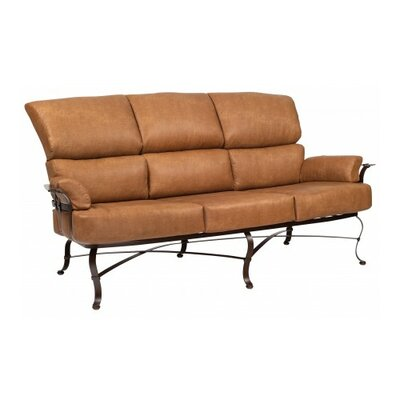 Atlas Sofa with Cushions Fabric: Summit Peony