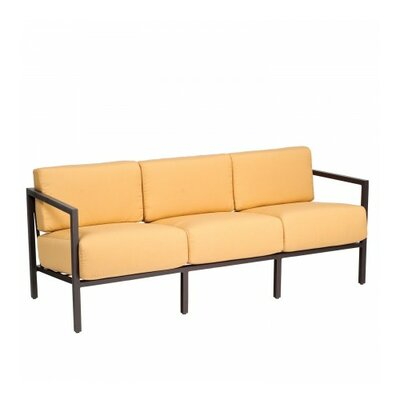 Salona Sofa with Cushions Fabric: Brisa Distressed Charcoal