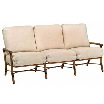 Glade Isle Sofa with Cushions Fabric: Paris Blush