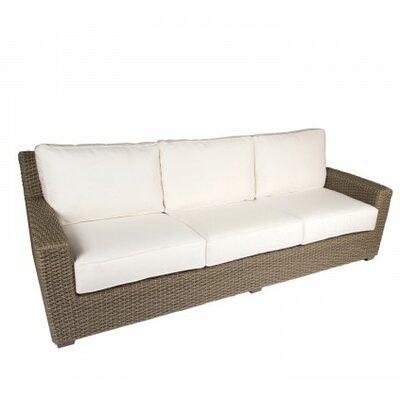 Augusta Sofa with Cushions Fabric: Summit Peony