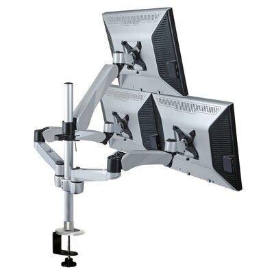 Cotytech Height Adjustable 3 Screen Desk Mount
