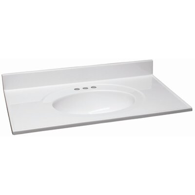 "Design House 37"" Single Bowl Vanity Top"