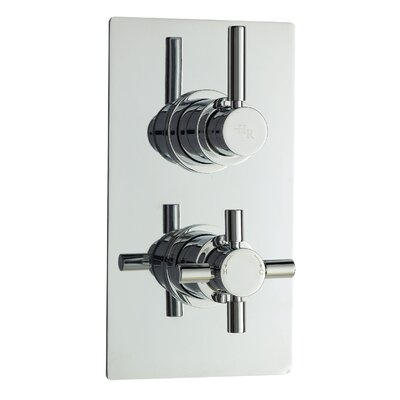 Hudson Reed Tec Twin Concealed Shower Valve