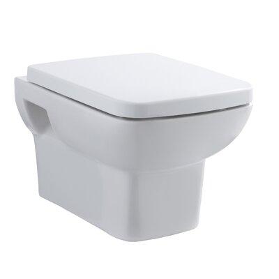 Hudson Reed Bainbridge Wall Hung Toilet with Soft Close Seat