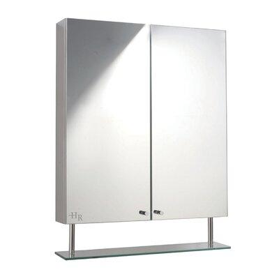 Hudson Reed Dakota 60cm x 77cm Surface Mount Mirror Cabinet