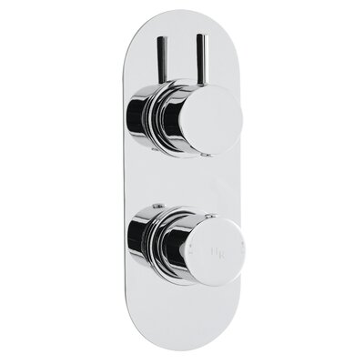Hudson Reed Clio Twin Concealed Shower Valve