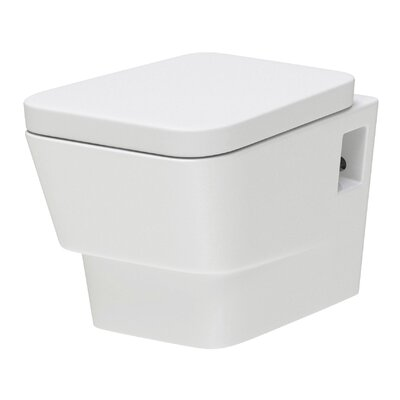 Hudson Reed Farnham Back to Wall Toilet with Soft Close Seat