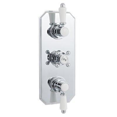 Hudson Reed Triple Concealed Thermostatic Shower Valve