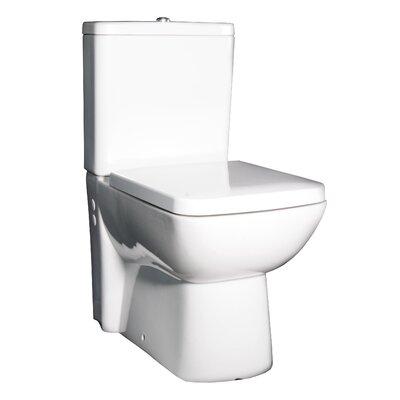 Hudson Reed Bainbridge Close Coupled Toilet with Soft Close Seat