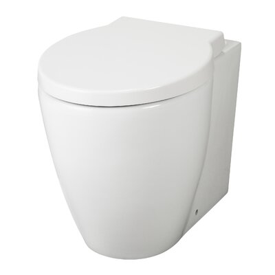 Hudson Reed Langdon Back to Wall Toilet with Soft Close Seat