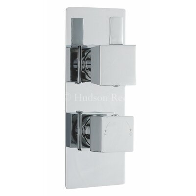 Hudson Reed Harmony Twin Concealed Shower Valve with Diverter