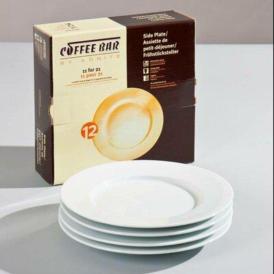"""Konitz Coffee Bar 8"""" Plate"""