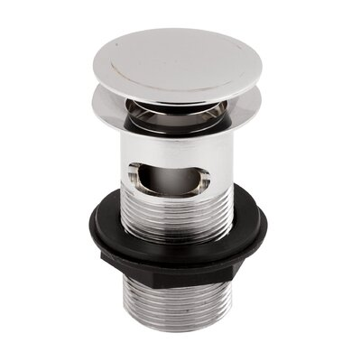 Hudson Reed Push Button Basin Waste (Slotted)