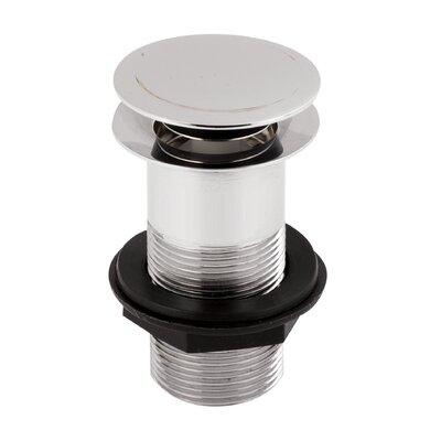 Hudson Reed Push Button Basin Waste (Unslotted)
