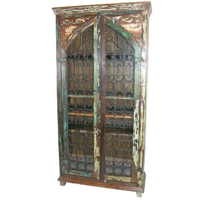 Mcdonnell Iron Tall Accent Cabinet