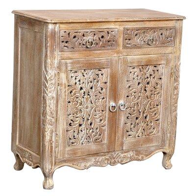 Aveliss 2 Drawer 2 Door Cabinet