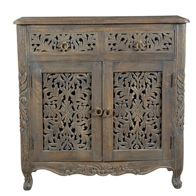 Aveliss 2 Drawer 2Door Accent Cabinet