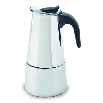 6-Cup Stainless Steel Espresso Coffeemaker