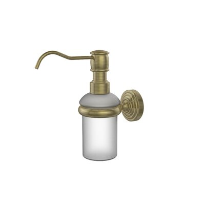 Allied Brass Waverly Place Wall Mounted Soap Dispenser
