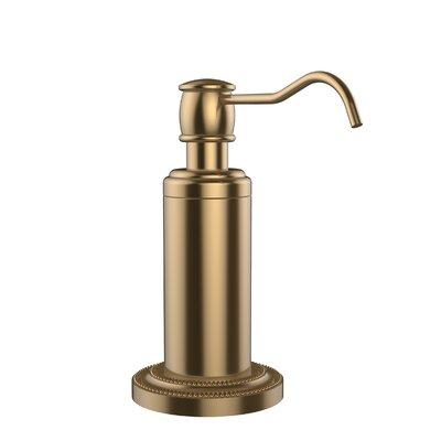 Dottingham Free Standing Soap Dispenser Finish: Brushed Bronze