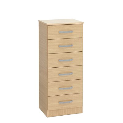 Ideal Furniture Budapest 6 Drawer Chest of Drawers