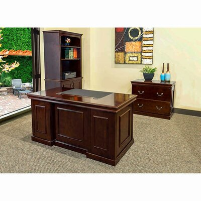 Combo 3 Piece Desk Office Suite