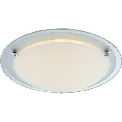 House Additions Specchio Ii 1 Light Flush Ceiling Light