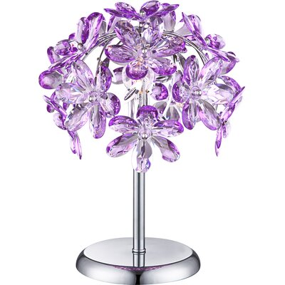 House Additions Purple 36cm Table Lamp