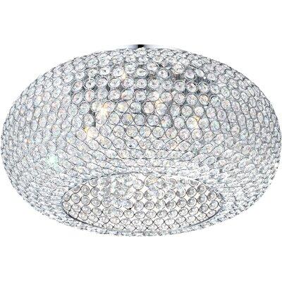 House Additions Emilia 6 Light Flush Ceiling Light