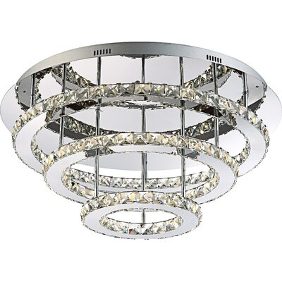 House Additions Marylyn 54 Light Flush Ceiling Light