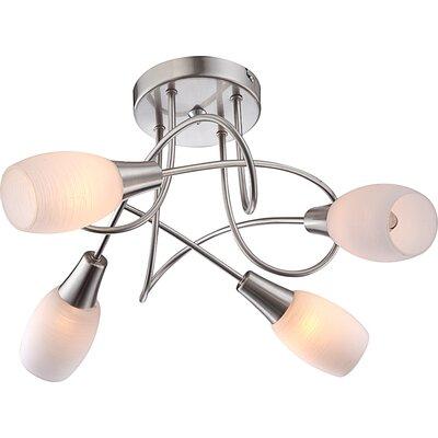 House Additions Gillian 4 Light Ceiling Spotlight