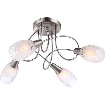 House Additions Florita 4 Light Ceiling Spotlight
