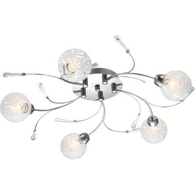 House Additions Orlene 5 Light Ceiling Spotlight