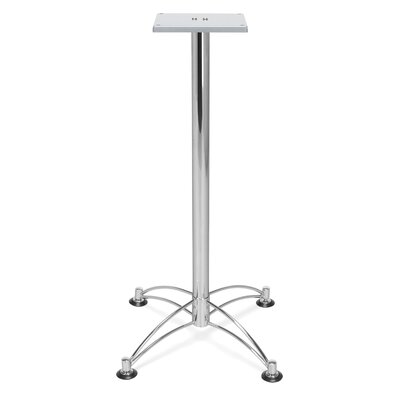 "Base for 36"" and 42"" Square and Round Caf Tables Base Finish: Chrome"